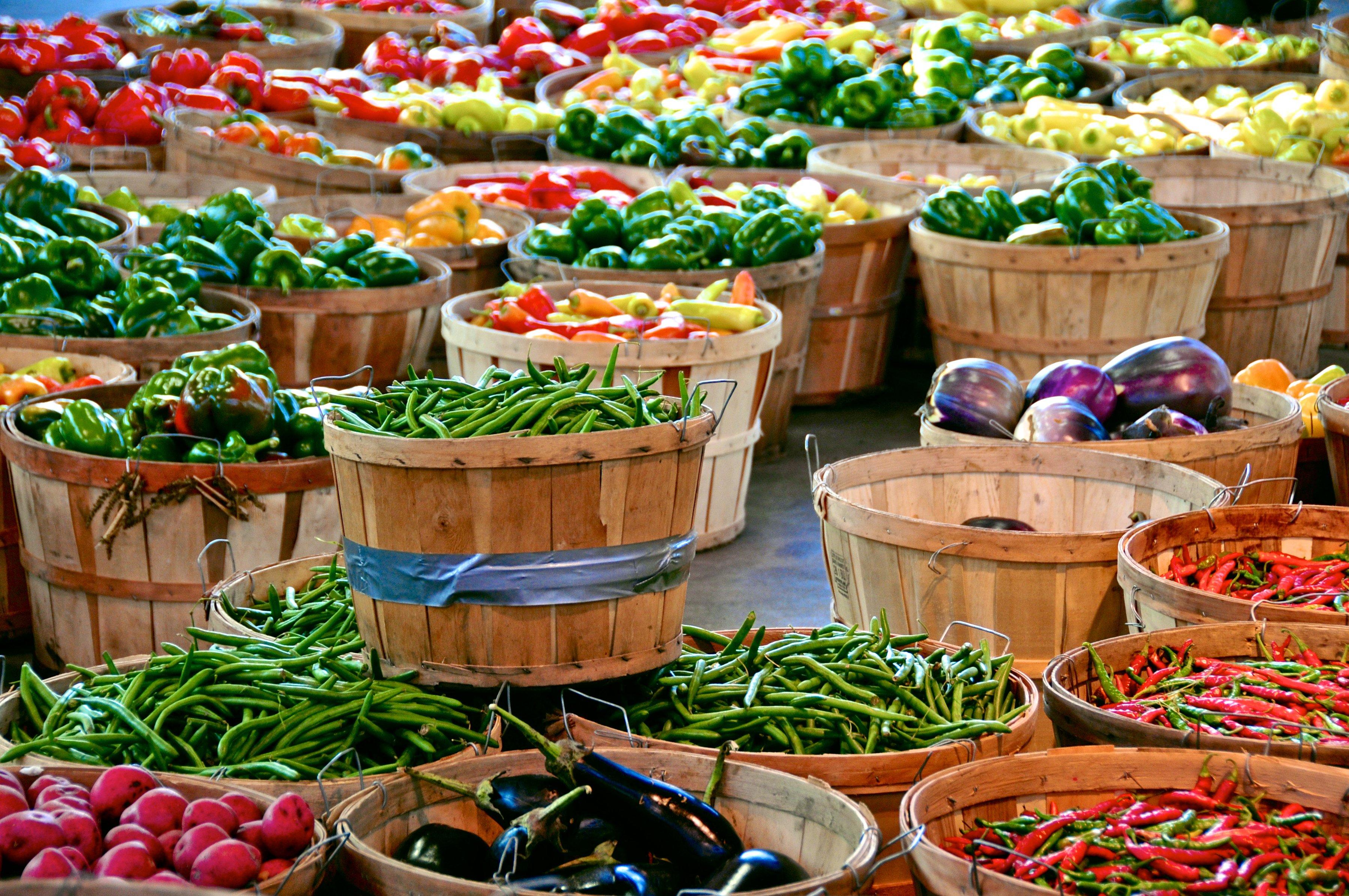 Canva - Detroits Eastern Market produce