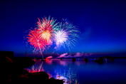 Canva - Fireworks during Night