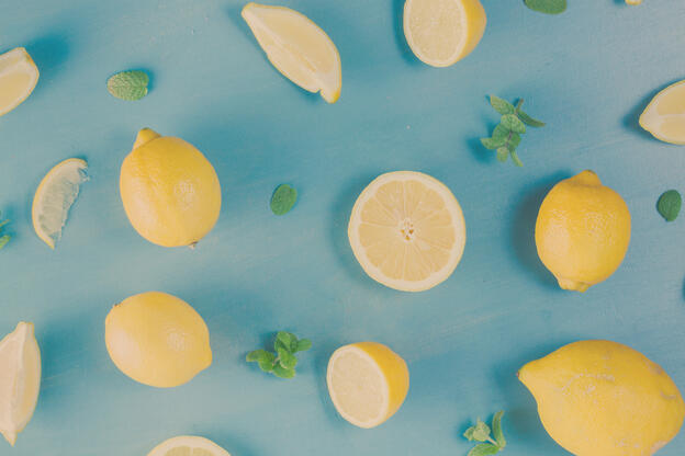 Canva - Fresh Lemon Fruits