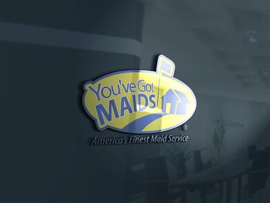 You've Got Maids Logo On Wall